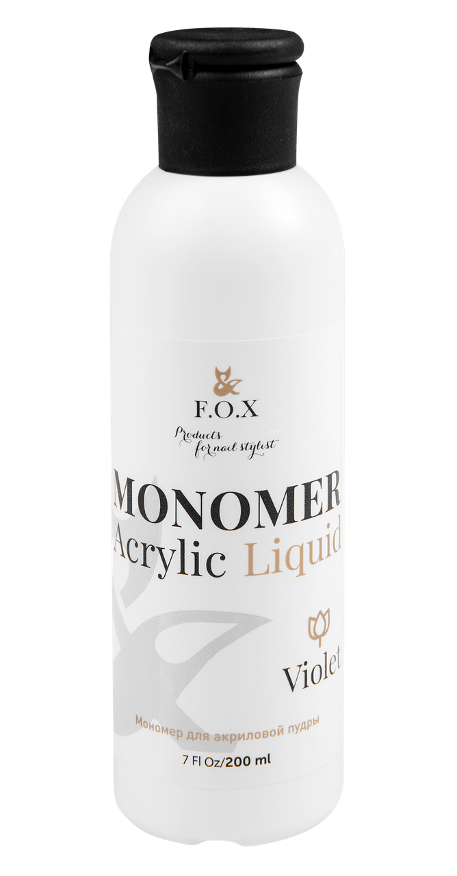 Мономер для акрила F.O.X Monomer Acrylic Liquid 200 мл.