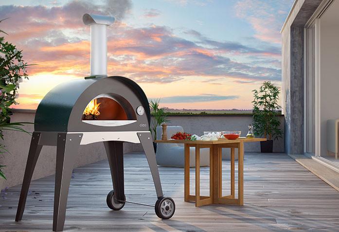 Ciao 2 пиццы - Печь для пиццы на дровах.  Alfa Pizza. Италия, фото 1