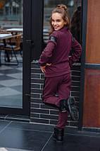 """Теплый детский спортивный костюм """"VECTOR"""" с пайетками (4 цвета), фото 2"""
