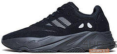 Мужские кроссовки Adidas Boost 700 Runner Triple Black