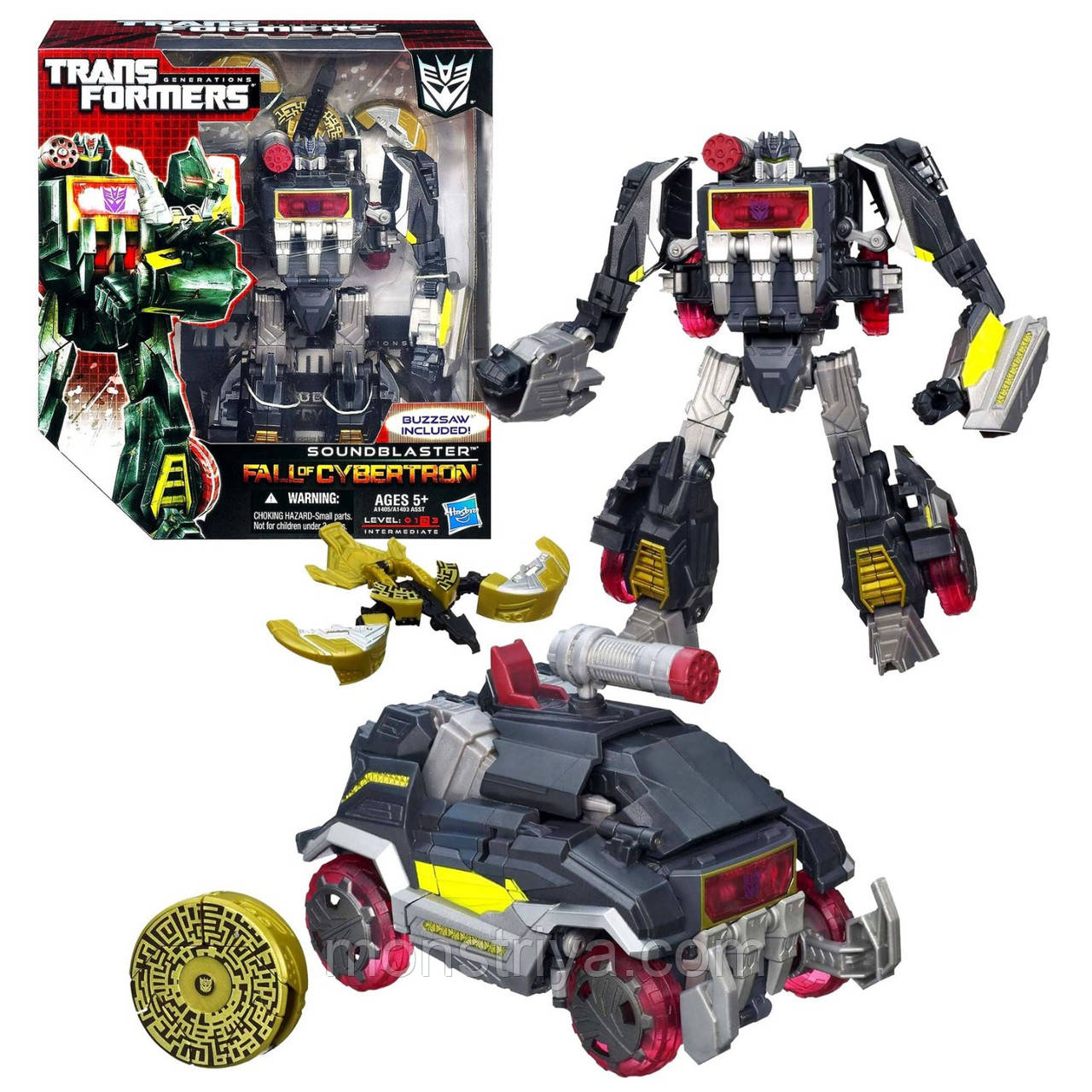 Transformers Робот Трансформер Generations Fall of Cybertron Series 1 Soundblaster