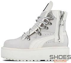 Женские кроссовки Puma Fenty Sneakerboot Rihanna Grey