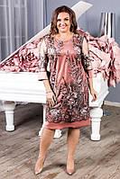 Платья женское 52-58 новая коллекция