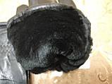 Натуральная кожа с Овчина Мех-Цельная Мужские перчатки/Перчатки мужские кожаные, фото 4