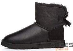 Женские ботинки UGG Mini Leather Black