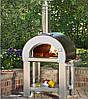 5 Minuti 2 пиццы- Печь для пиццы на дровах. Alfa Pizza. Италия