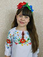 """Вышиванка для девочек """"Красотка"""" 116-152"""