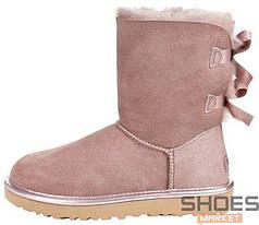 Женские ботинки UGG Pink 2 Stripe