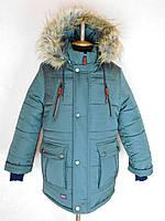 "Куртка зимняя для мальчика ""Дэн"" (хаки)."