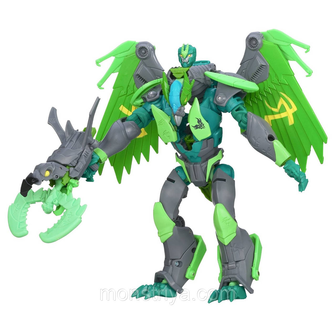 Transformers Робот Трансформер PRIME Beast Hunters Voyager Class Grimwing