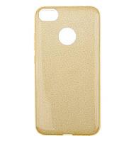 Чехол-накладка Shining Glitter Case для Xiaomi Redmi Note 5A Prime / Redmi Y1 Gold