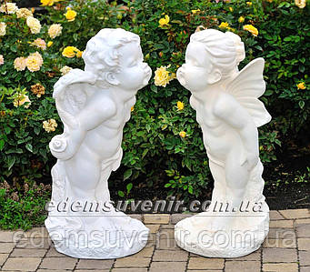 Садовая фигура Амур и Эльфина