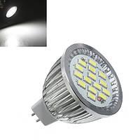 MR16 6.4W 480-530LM Чистый белый SMD 5630 LED Лампа Spotlightt 10V-18V AC 1TopShop