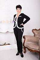 Женский брючный костюм большого размера, фото 1