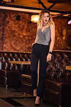 """Брючный женский комбинезон """"LIRA"""" с люрексом и карманами (3 цвета), фото 2"""