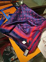 Платок шаль в стиле Louis Vuitton (Луи Витон) шикарная новинка