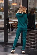 """Теплый женский спортивный костюм """"VELENA"""" с бархатной отделкой (3 цвета), фото 3"""