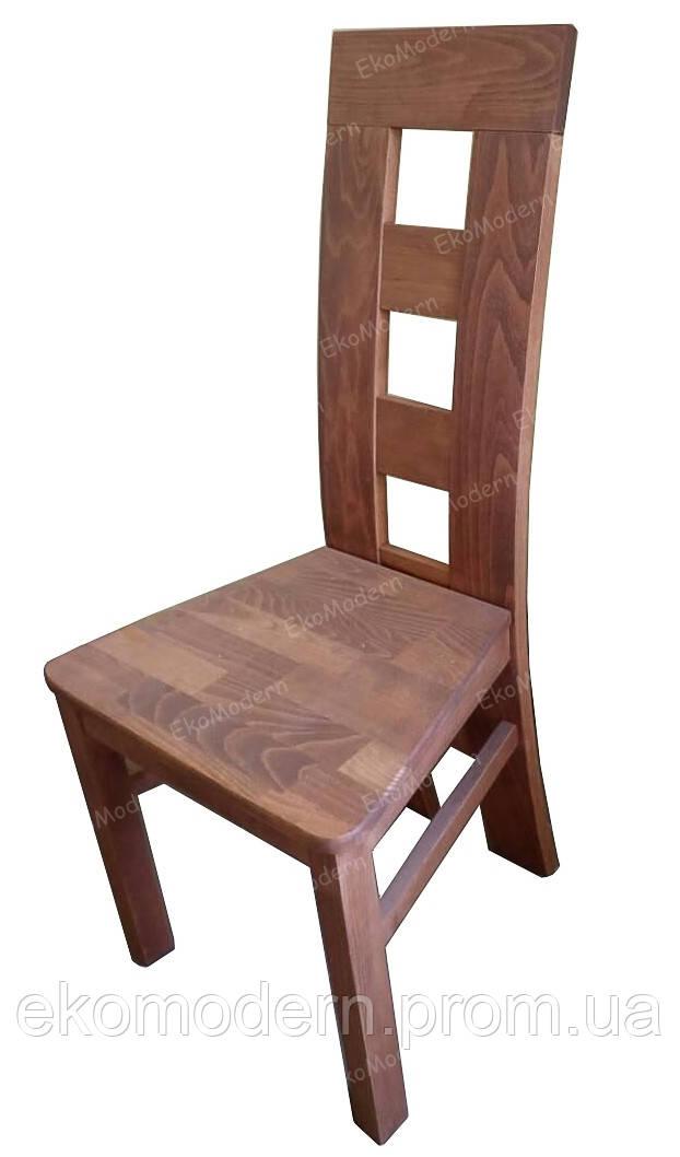 Стул твердый деревянный ЧИКАГО+ для гостиной дома, ресторана, кафе и бара