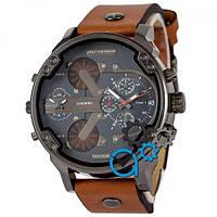 Diesel DZ7314 Black-Light-Brown-Wristband
