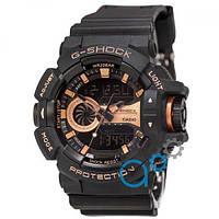 Casio G-Shock GA-400 Black-Cuprum