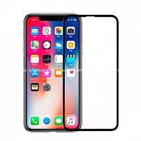 Защитное стекло для iPhone XR 3D curved Black