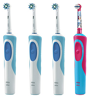 Набор для всей семьи 3 зубных щетки Vitality + щетка для девочки