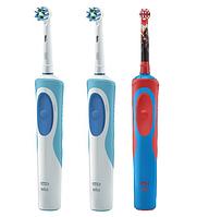 Набор для всей семьи 2 зубных щетки Vitality, 1 щетка для мальчика