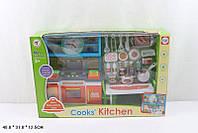 Кухня K1601A-3 12шт газ.плита,часы,мебель,посуда,в кор. 481331см