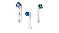 Насадки для зубной щетки ORAL-B 3 шт. (Sensitive, Precision Clean, Cross Action)