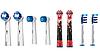 Насадки для зубной щетки ORAL-B 8 шт. (2 шт.Sensitive,  2шт. Precision Clean, 2 шт. Trizone,  2шт. детские)