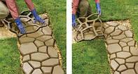 Форма для садовой дорожки 40*40*6см