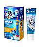 Детская  зубная щетка Oral-B D10. 513 Stages Power (Мики) + зубная паста Crest