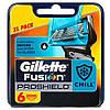 Лезвия Gillette Fusion Proshield Chill упаковка 6 шт