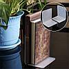 2шт 100x100x80x3mm Прозрачные акриловые книги L-образные книжные шкафы Организатор Стенд для офиса Школа - 1TopShop, фото 2