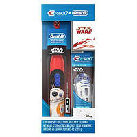 Зубная щетка Disney's Star Wars Oral-B + зубная паста Crest, подарочный набор, фото 1