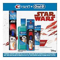 Зубная щетка Disney's Star Wars Oral-B + зубная паста Crest+ жидкость для полоскания, подарочный набор, фото 1