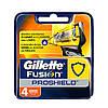 Лезвия Gillette Fusion Proshield упаковка 4 шт
