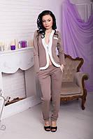Женский стильный брючный костюм, фото 1