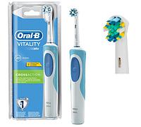 Зубная щетка Oral-B Vitality, 2 насадки в комплекте, фото 1