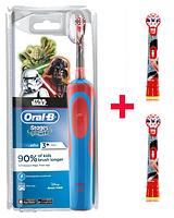 Детская  зубная щетка Oral-B D12. 513 Stages Power (для мальчика) 3 насадки, фото 1