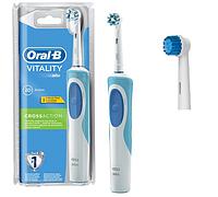 Зубная щетка Oral-B Vitality, 2 насадки в комплекте