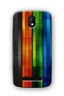 Чехол для HTC Desire 500 (палочки)
