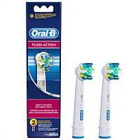 Насадки для зубной щетки ORAL-B floss action 2 шт., фото 1