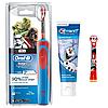 Детская  зубная щетка Oral-B D12. 513 Stages Power (СтарВарс) 2 насадки + зубная паста Crest