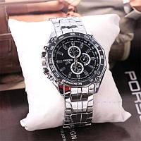 Мужские спортивные наручные часы «Orlando Black» с металическим браслетом, фото 1