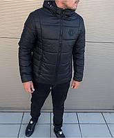 f06daded04bc Мужская Зимняя Черная Куртка Philipp Plein Очень Качественная Куртки Мужские  Фирменные