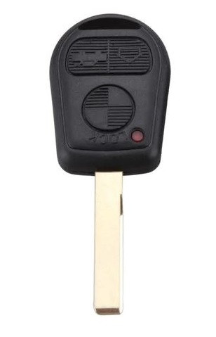 Корпус авто ключа под чип для BMW Е46, Е53, Е60, Х3, Х5 (бмв) 1,2,3,4,5,6,7,8,I3,I8,m1,m2,m3,m4,m5, m6,x1,x2