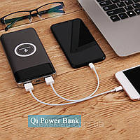 PowerBank UKC 27800mah с беспроводной Qi-зарядкой