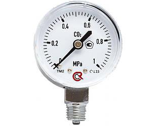 Манометр вуглекислотний 0-1МПа