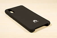 Чехол Silicone Cover Huawei P20 (Black)